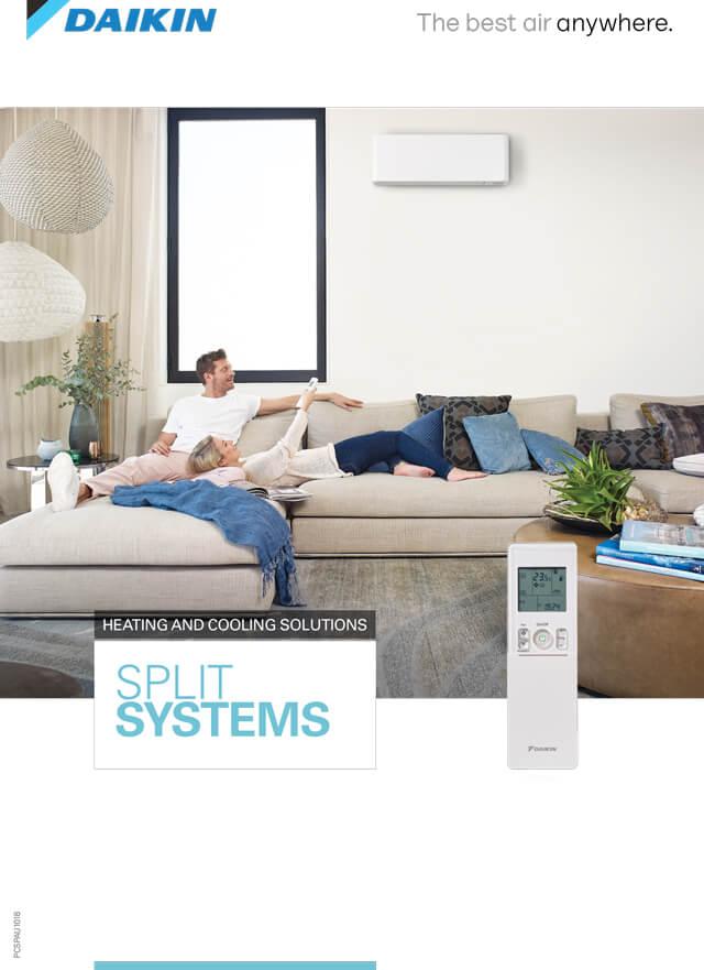 Daikin Split System Air Conditioner Brochure