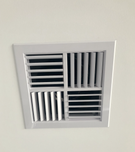 An aircon duct in the roof of a Perth home.
