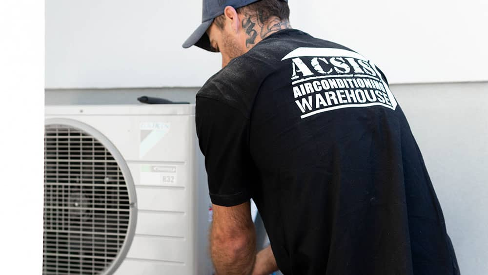 installing split system air conditioning