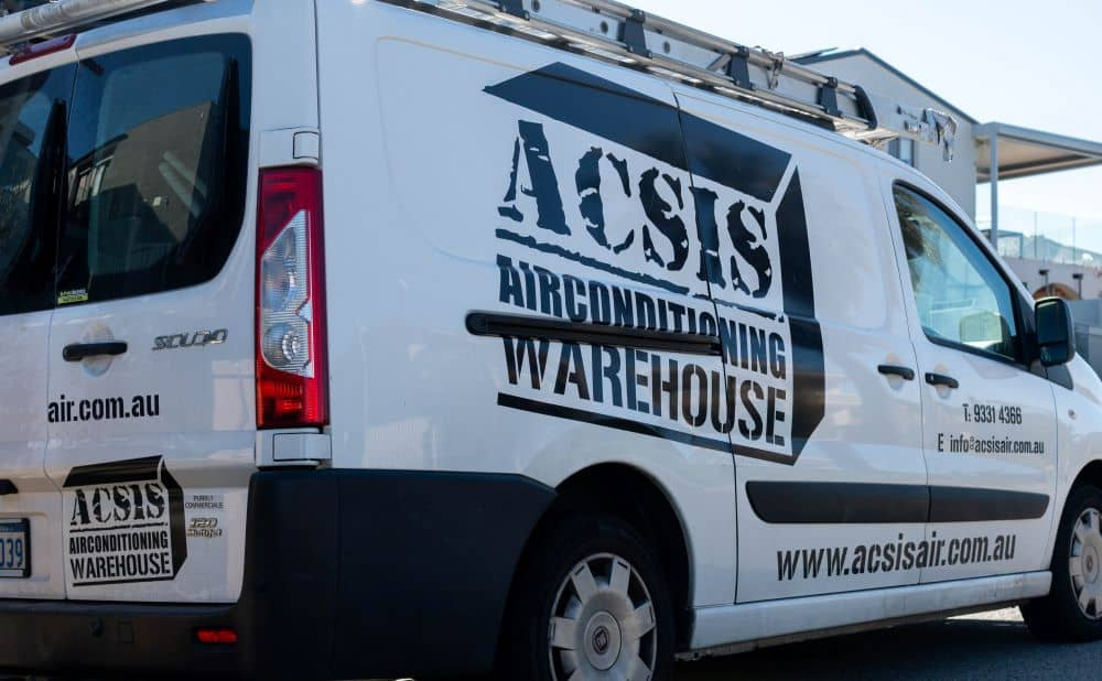 ACSIS vehicle used for installation.