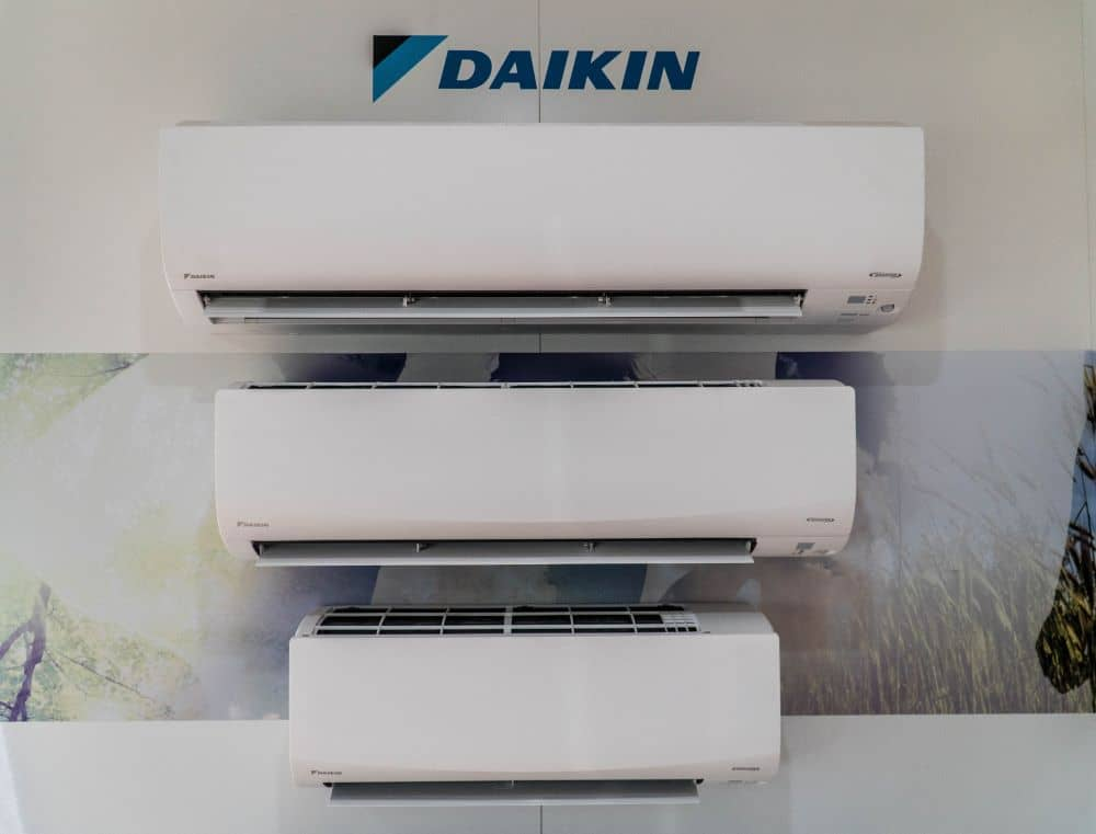 Daikin split system air conditioner products