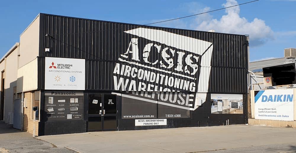 ACSIS warehouse exterior.
