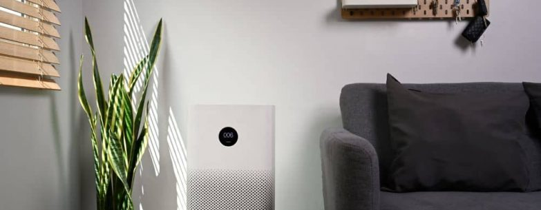 Living room air purifier.