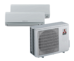 Mitshubishi Multi-Zone System - Split System Air Conditioning