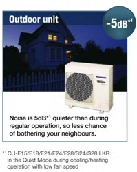 Panasonic - Quiet Mode Feature - Air Conditioning System